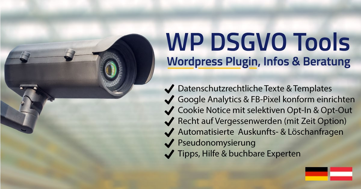 dsgvo wordpress plugin